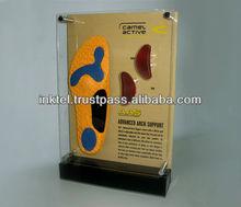 Acrylic Showcase / Acrylic table top display / Acrylic shoe display
