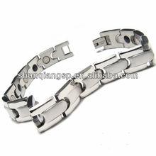 2013 Ion power bracelet man steel jewelry