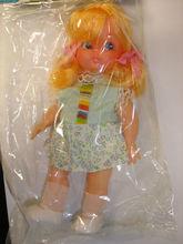 "Rare vintage Little Amy 6.5"" girl plastic toy dolls figure #2"