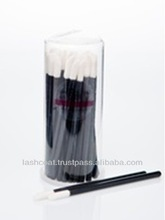 High Quality Disposable Cleaning Eyelash Sponge Tip Brush