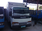 Isuzu elf Aluminum Closed Van Japan Surplus Trucks