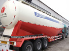 widely used 60T bulk cement semi trailer