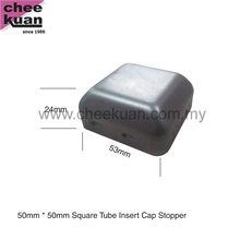 Furniture Square Tube Metal End Cap