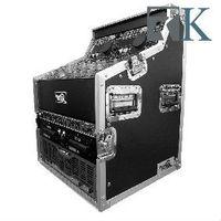 DJ Workstation - Dual CD, Control & 19inch Mixer, Top Rack 3U, Mid 7U & Bot ,6U