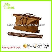 Wholesale cheap custom canvas duffle bag