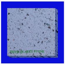 artificial sparkle grey quartz stone