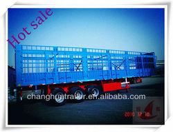 2013 3 axle new cargo box truck trailer