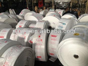 HDPE/LDPE T shirt plastic shopping bags