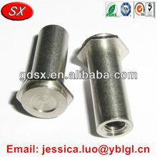 galvanized high carbon steel hex head press fit standoff,self clinching standoff nut,self clinching standoff