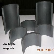 Y40 ferrite arc magnets for motor