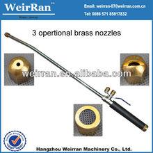 (71811) optional brass nozzles gardening flexible aluminum hand pump sprayer