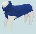 Jerseys navideños a la moda para perro tejidos a mano