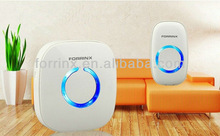 Waterproof with IP44 and LED flashing light western style simplify doorbell electronics wireless doorbell