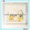 Seta cartadastampa calendario a guangzhou/happinese giardino pop calendari