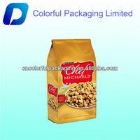 dog travel food bag/plastic dog food packaging bag/high quality dog food bag