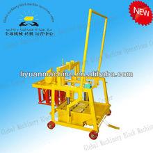 Construction Machinery Equipment QMY2-45 Moving Egg Laying Block Machine