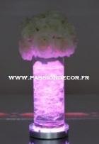 Projecteurs sous vase / Vase light