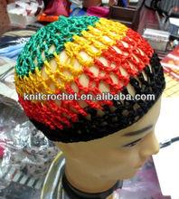 100% Hand Crocheted Hair Sleeping Net Cap, nylon net cap head cap,womens net cap