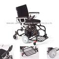 للطي وخفيفة الوزن aluninium السيارات الكهربائية للمستخدم كرسي متحرك