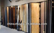 Rug or wood floors metal page display rack