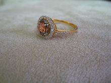 Round Zircon Ring