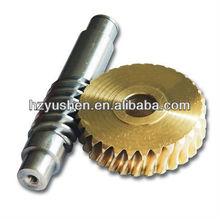 high quality worm shaft and worm wheel