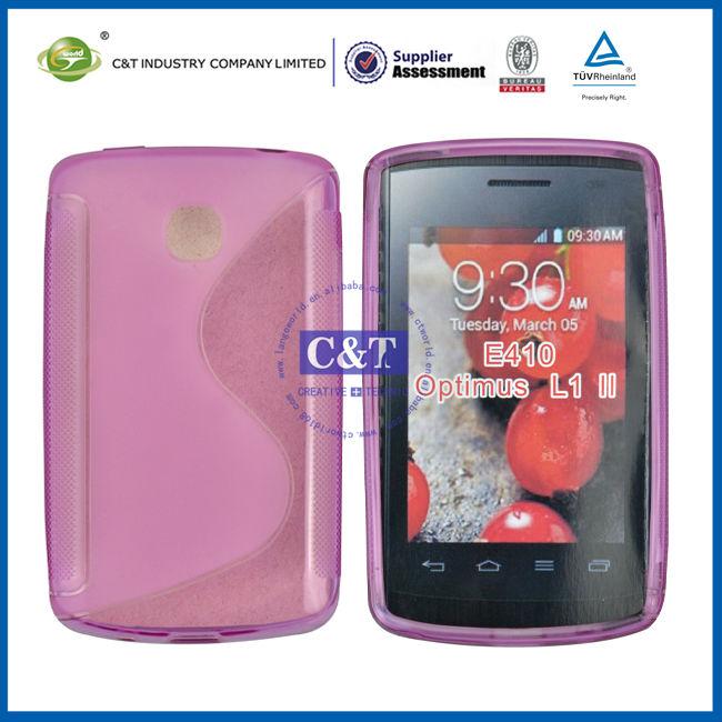 C&T TPU soft cover for E410 Optimus L1 II
