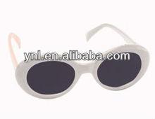 Party/Halloween Dressing up Eyewear/Sunglasses Mod White Circle Sunglasses