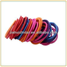 Mixed colors small thin elastic hair bands for babies