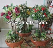 ARTIFICIAL BONSAI PROSPERITY PLANTS