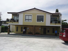 Townhouse at Paranaque, Woodsville Residences near Airport, 136sqm, 3Bed 2 car garage, 50,000 monthly