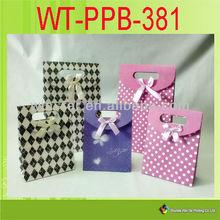 WT-PPB-381 branded shopping bag