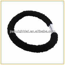 Traditonal black velvet elastic hair band, hair accessory
