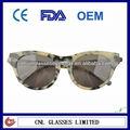 Design des lunettes de cadre, lunettes de soleil polarisées matériel