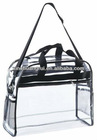 transparent clear messenger bag