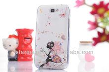 Bling Bling Diamond cartoon hard case for SamSung Galaxy Note2 N7100