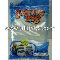 Vacuum compresed bags