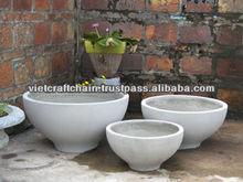 Light concrete pot, light cement pot, lite weight pot