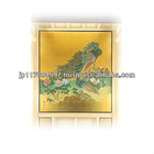 gold paper work interior wall decoration