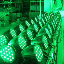 ST-F041 5pcs*10W 4in1 thin par led stage light Hot!! 24pcs 4-in-1 LED Waterproof Par Light/ Stage Effect Par Can Light / Dj Dis