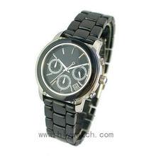 Charming Gift Geneva Quartz Janpan PC21 Movt Vogue Chronograph Watch