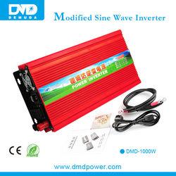 Reasonable 1000W dc 12v to ac 220v solar panel inverter cost