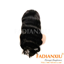 Natural Middle Parting 100% full lace wigs from FDX Beauty Hair