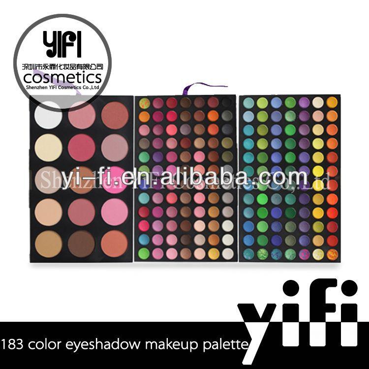wholesaler!183 eye shadow cosmetic makeup palette cosmetic eyeshadow