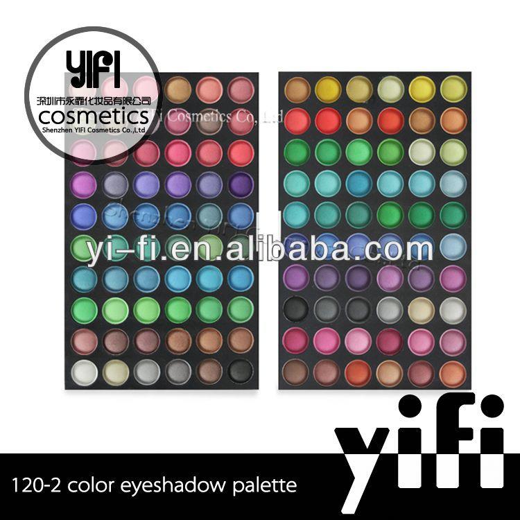 Cosmetics distributor! 120-2 eyeshadow palette makeup cosmetic