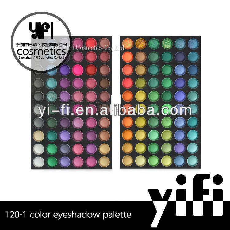 2013 Hot! 120 cosmetics eyeshadow palette cheap makeup palettes