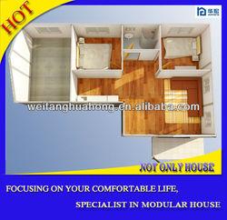 Modern beautiful durable prefab nissan caravan