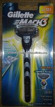 Mach 3 de afeitar, Vector de afeitar y cartrideges, Presto de afeitar