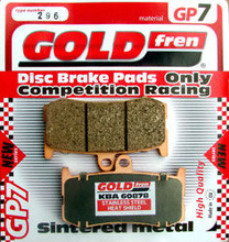GOLDfren GP brake pads