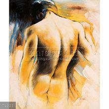 Handpainted nude men paintings,oils on canvas, Male Nude